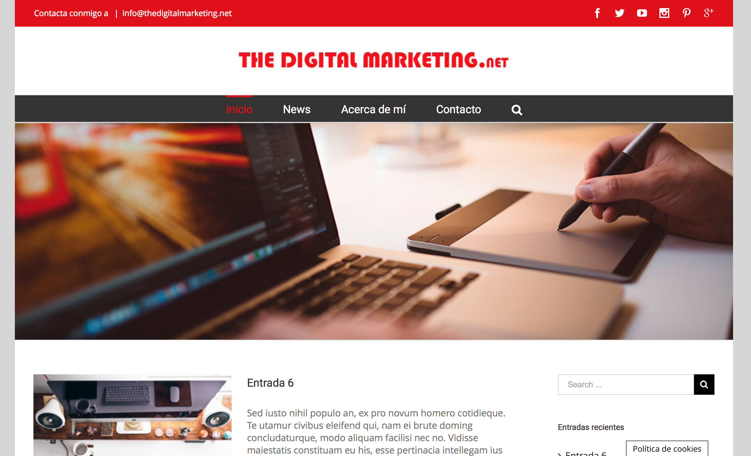 The digital marketing